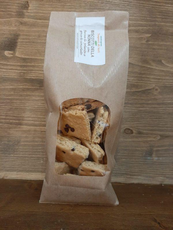 Biscotti della Nonna con mais e cioccolato 300gr